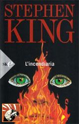 Copertina de L'incendiaria di Stephen King