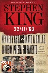 Copertina di 22/11/63 di Stephen King