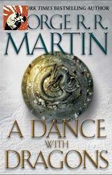 """Copertina di """"A dance with dragons"""" di George R.R. Martin"""