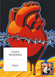 Copertina di Diary di Chuck Palahniuk