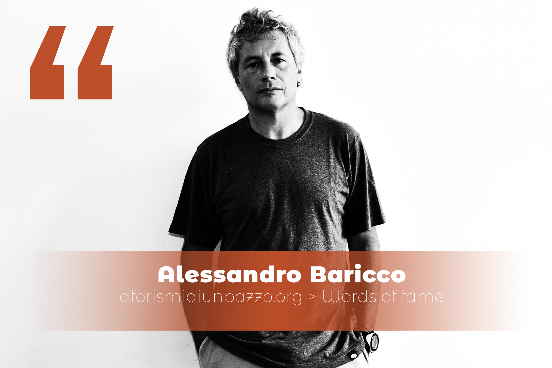 citazioni di Alessandro Baricco