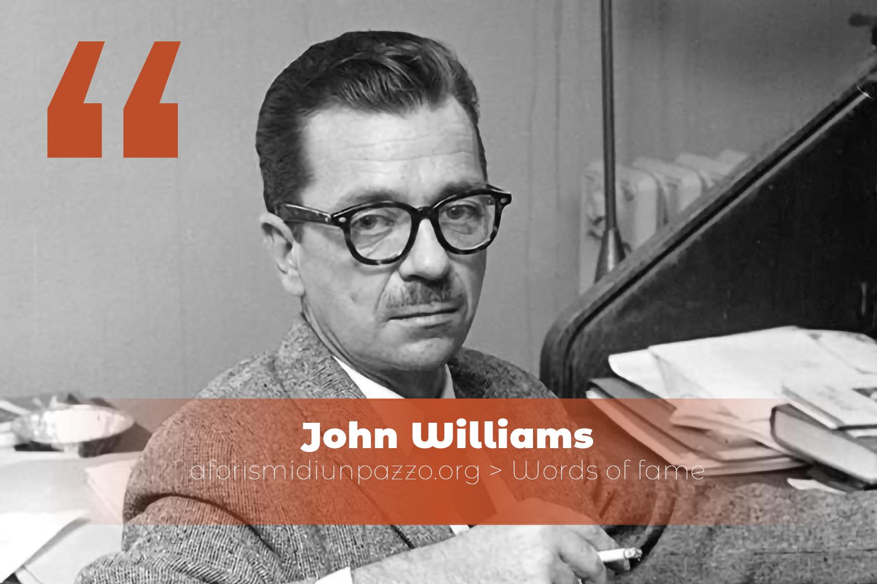 Citazioni di John Williams