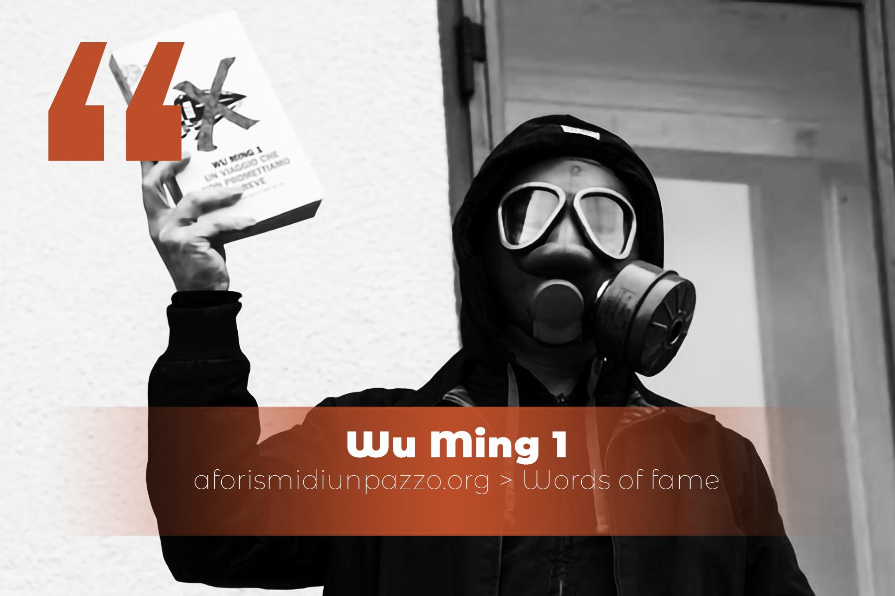 citazioni di wu ming 1