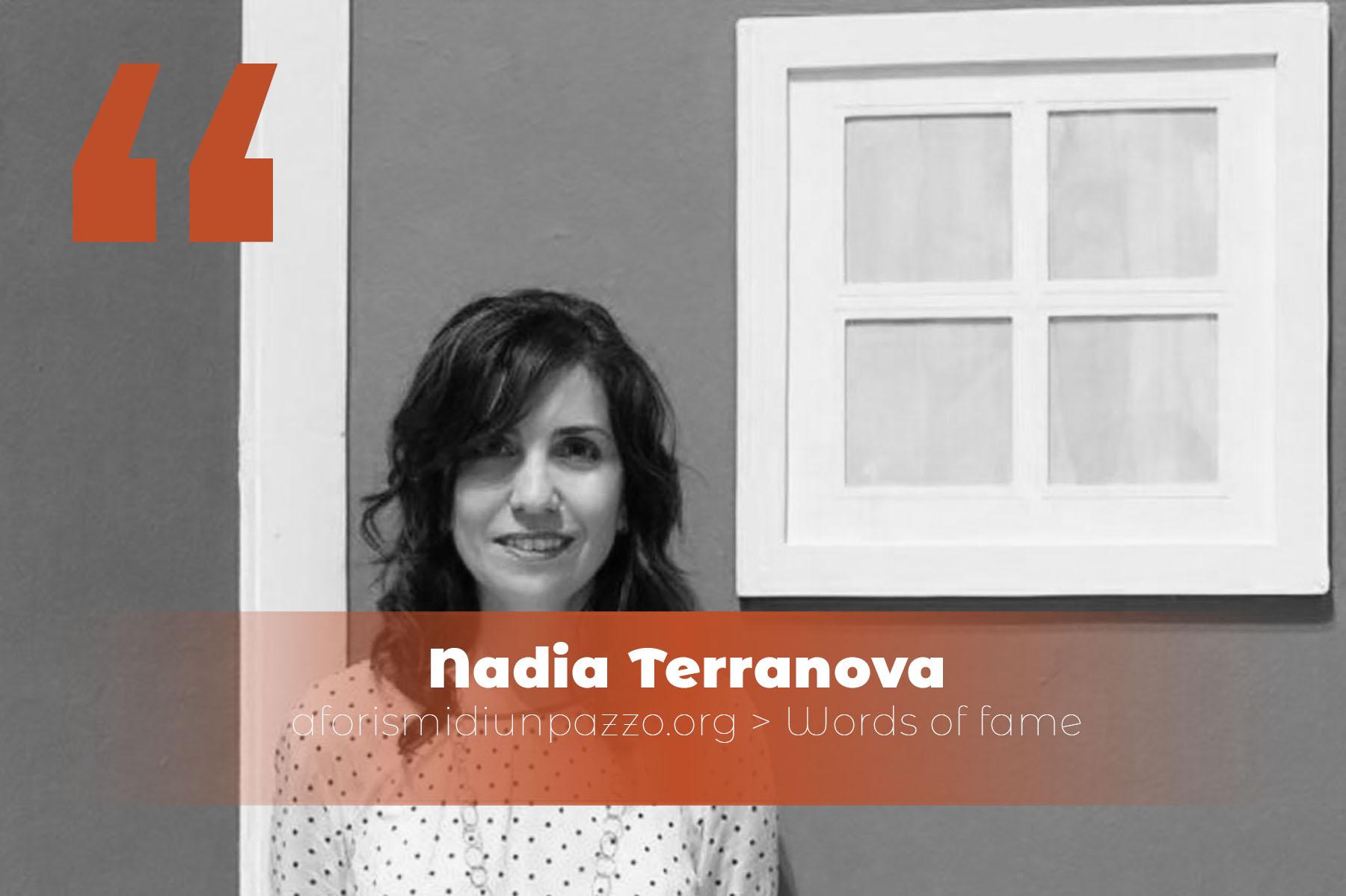Citazioni di Nadia Terranova